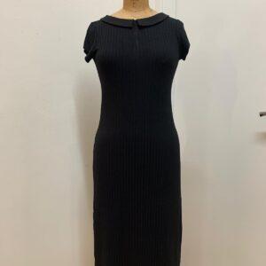 שמלת מקסי שחורה